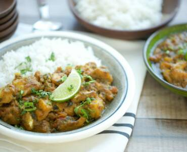 Pittige viscurry